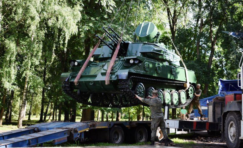 В Рыбинске установили «Шилку». Фоторепортаж