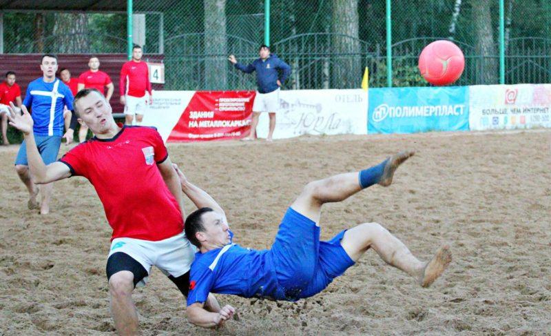 ВРыбинске прошёл финал чемпионата города попляжному футболу. Фоторепортаж