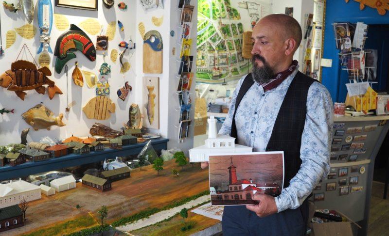Рука мастера и 3D-печать. В Рыбинске создают полномасштабный макет Мологи. Одних только домов больше 400