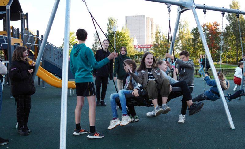 Парк на Волочаевской открыли. Вот что там сделали — фото