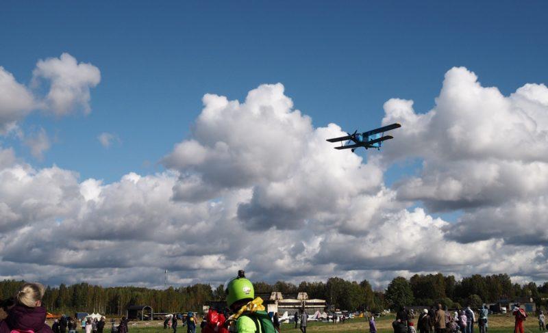 Самолёты и парашютисты: на аэродроме «Южный» прошёл фестиваль «Рыбинское небо». Фоторепортаж