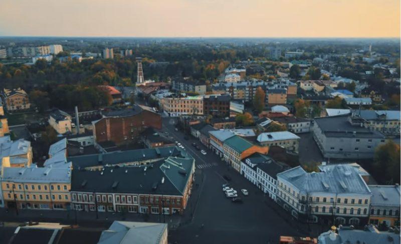 Александр Пискарёв из Москвы опубликовал фото и видео Рыбинска, сделанные с воздуха