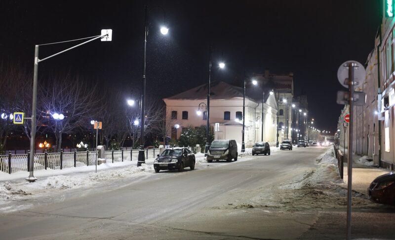 Огни небольшого города. Фоторепортаж с улиц вечернего Рыбинска