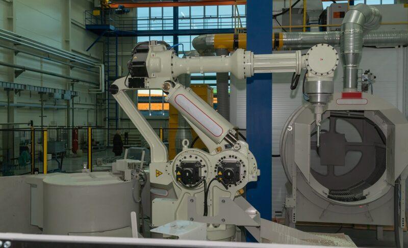Роботы на службе. В «ОДК — Сатурн» запустили новую роботизированную линию