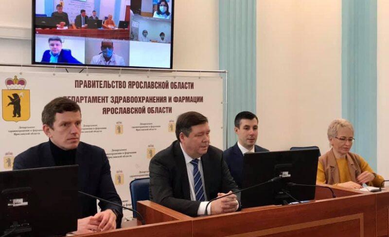 Руководителем регионального департамента здравоохранения стал экс-директор Областной клинической больницы Василий Тубашов