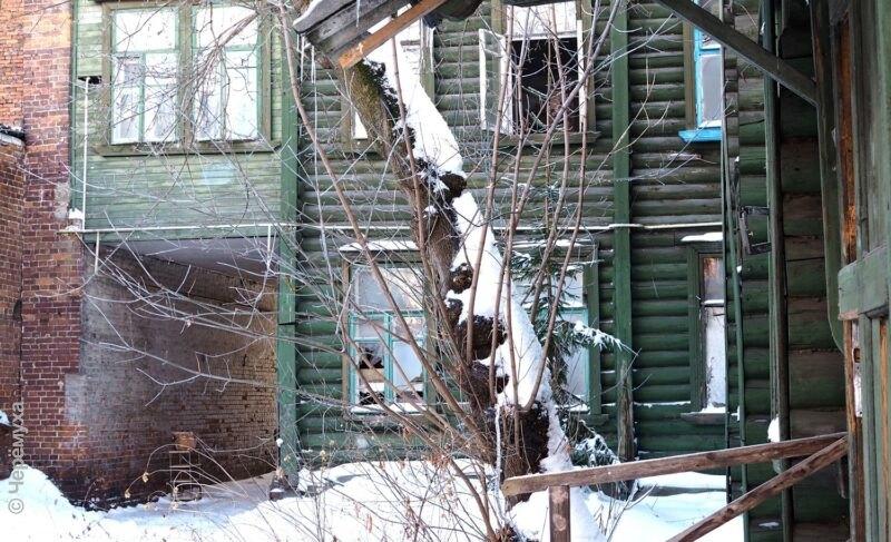Особняк, который общественность взяла «под опеку». Фото с субботника в доме на Большой Казанской