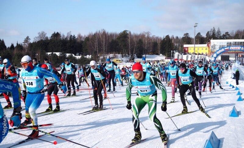 Дёминский лыжный марафон-2021: от старта до финиша. Большой репортаж из Дёмино и очень много фото