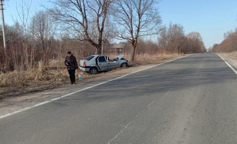 ВРыбинском районе пьяный водитель врезался вдерево