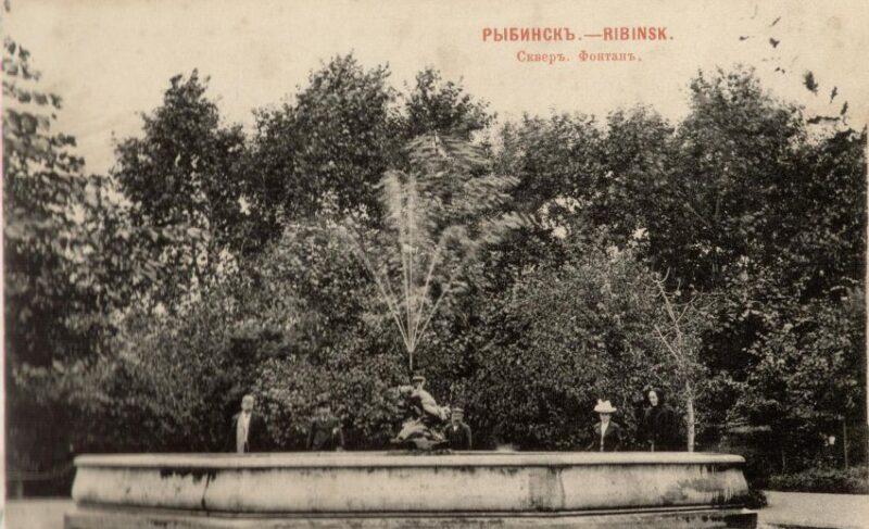 Символ развития и место для свиданий. Когда и где в Рыбинске устанавливали фонтаны