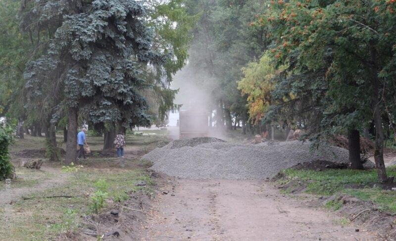 Строительные работы ипраздник. Как сейчас выглядит Волжский парк